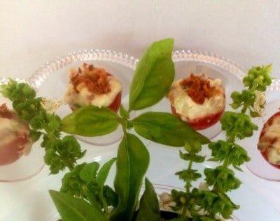 Easy, fresh and delish appetizer - Cherry Tomato BLT recipe.