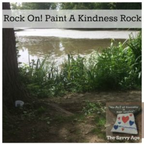 Rock On! Paint A Kindness Rock & Smile!