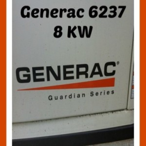 Considering buying a home generator? Review of my experience with Generac and the 8KW.