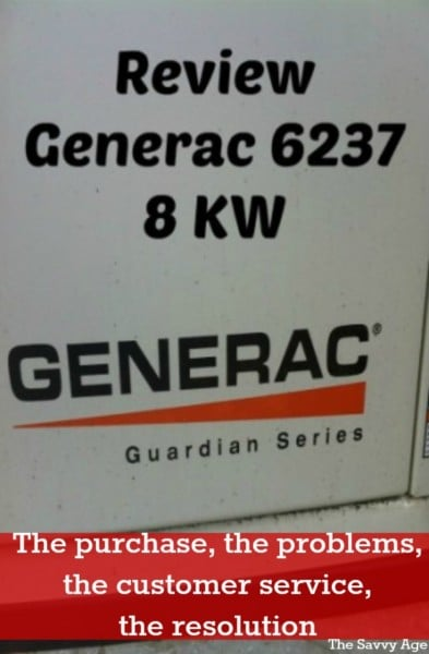 Should you buy a Generac generator? The purchase, the journey, the review.