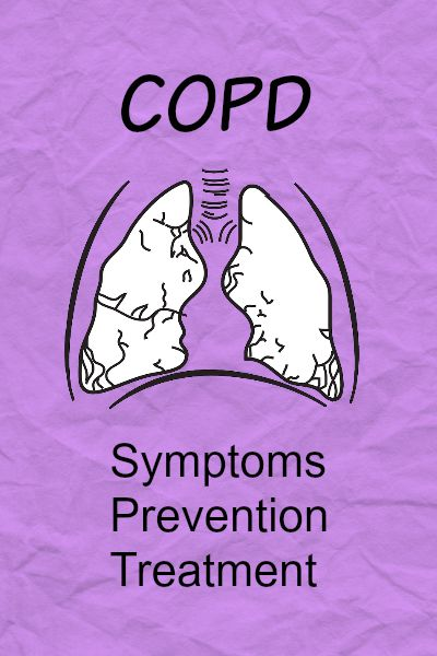 COPD symptoms and treatment.