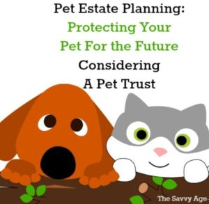 Pet trusts. Protecting your pet for the future.