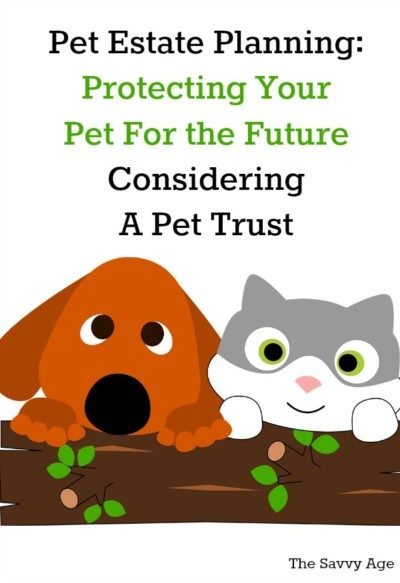 Pet trust. Protecting your pet for the future.