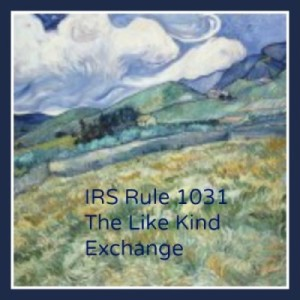 How IRS Rule 1031 affects real estate and art.