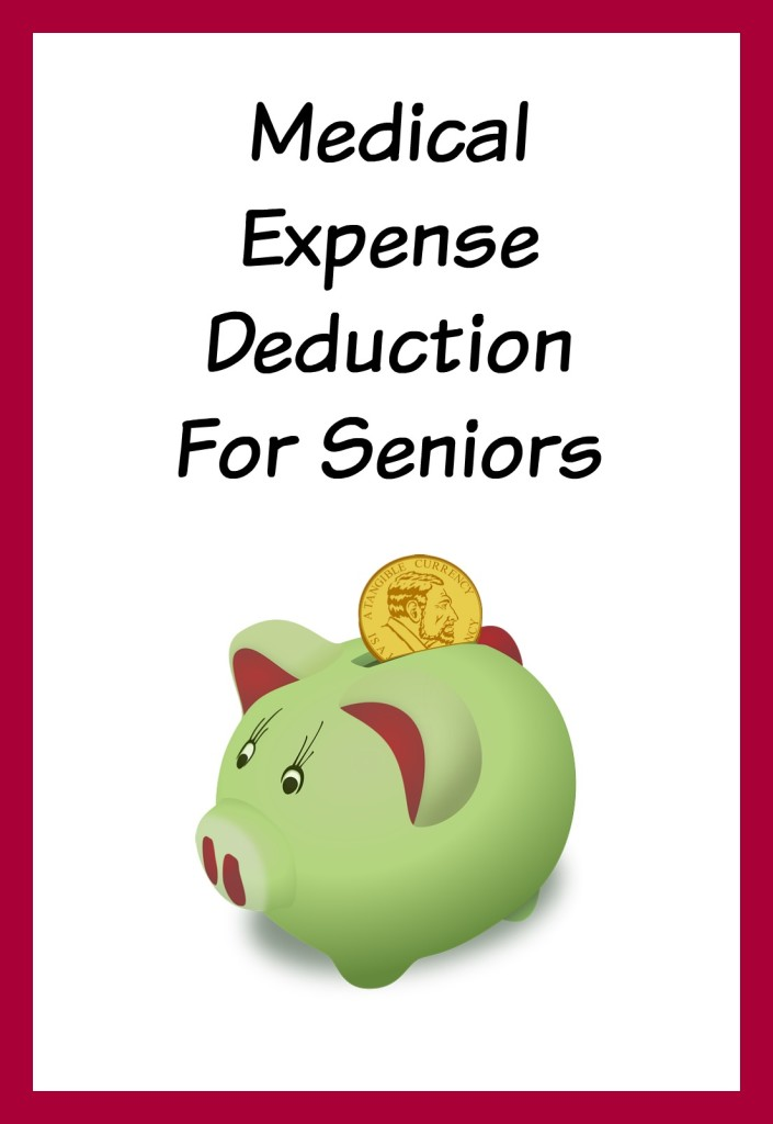 Medical expense deduction for seniors