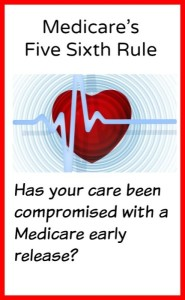 Do Medicare Lump Sum Payments Dictate Hospital Discharges?