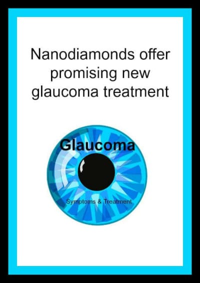 Nanodiamonds offers glaucoma patients treatment option.