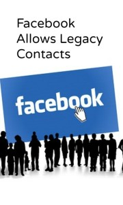 Facebook allows legacy contacts; protect your digital data.