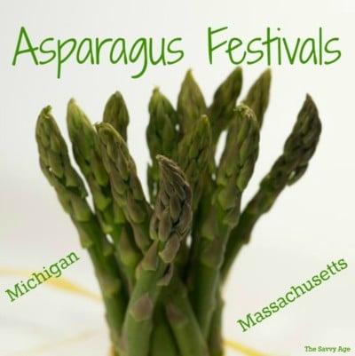 Spring Brings Asparagus!  Michigan & Massachusetts Festivals