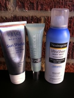 3 favorite sunscreens