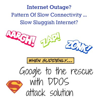 The Google Work Around For WOW DDOS Internet Outage
