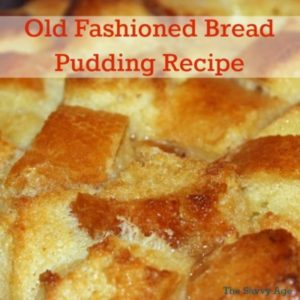 Old Fashioned Bread Pudding Recipe – Oh Yes!