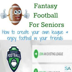 Fantasy Football For Seniors