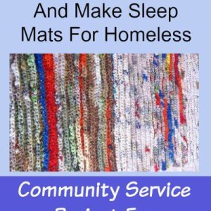turning plastic bags into sleep mats for homeless the savvy age