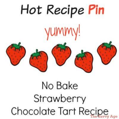 Yummy And Easy ! No Bake Strawberry Chocolate Tart Recipe