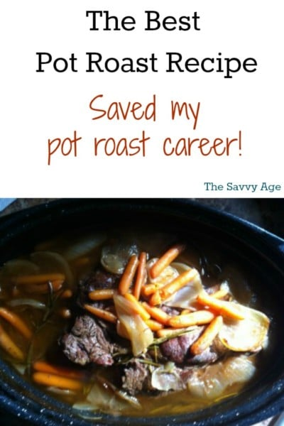 So easy, so yummy is the best pot roast recipe I have ever found! Thanks to the Pioneer Woman for saving my pot roast career!