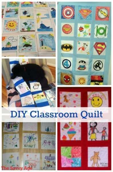 DIY Classroom Quilt for all ages!