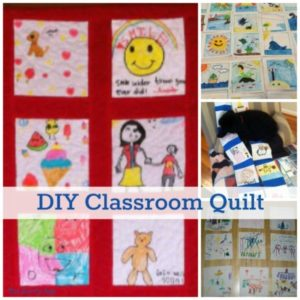 How To Make A Classroom Quilt – Fun Community Service Project!