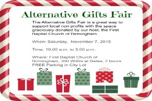 Alternative Gift Fairs Attracts Holiday Shoppers