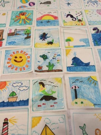 How To Make A Classroom Quilt - Fun Community Service Project ... : classroom quilt ideas - Adamdwight.com