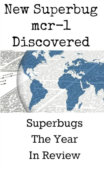 Another superbug mcr-1 discovered. Superbugs the year in review.
