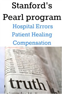 Stanford's Pearl offers patient transparency, hospital accountability.