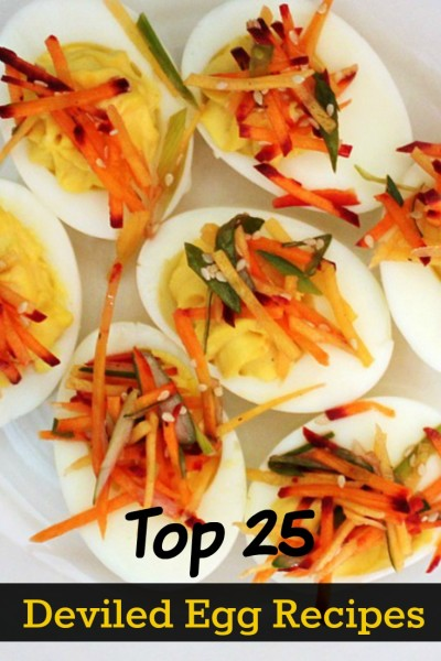 Enjoy the top 25 deviled egg recipes.