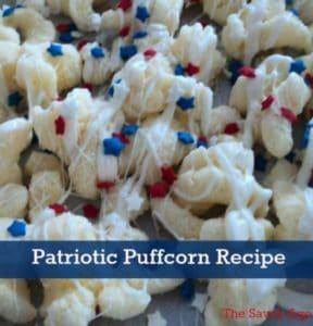 No Bake! Patriotic Puffcorn Recipe For The Summer