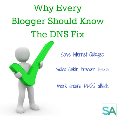 Why Every Blogger Should Know The DNS Fix for Outages