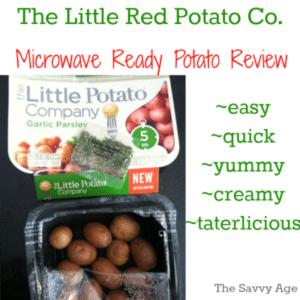 Little Potato Company Microwave Ready Potato Review