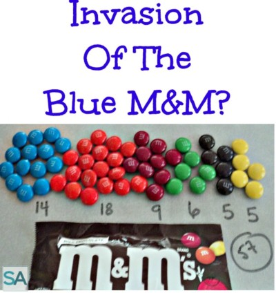 The Invasion Of The Blue M&M ?