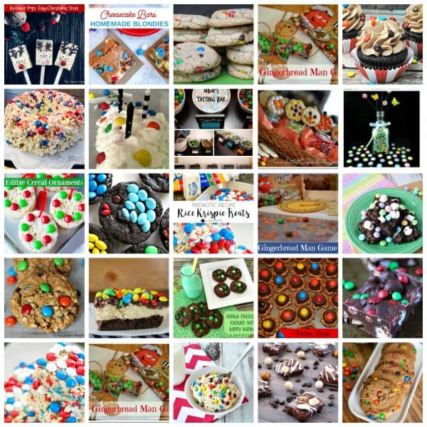 25 M&M Recipes And Crafts To Make And Enjoy
