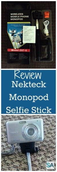 Great gadget for your camera or cell phone. Doubles as a selfie stick or monopod for digital camera.