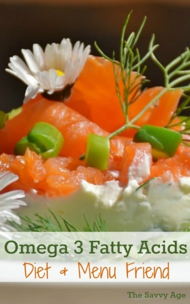 Why Omega-3 fatty acids are your diet and menu friend!