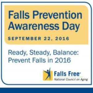 Fall Prevention Awareness Day Helps Promote Safe & Healthy Living
