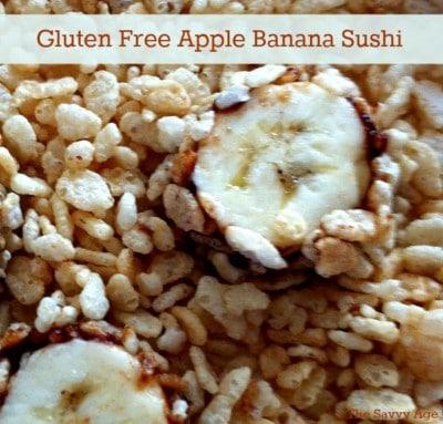 Gluten-Free Apple Banana Sushi Recipe