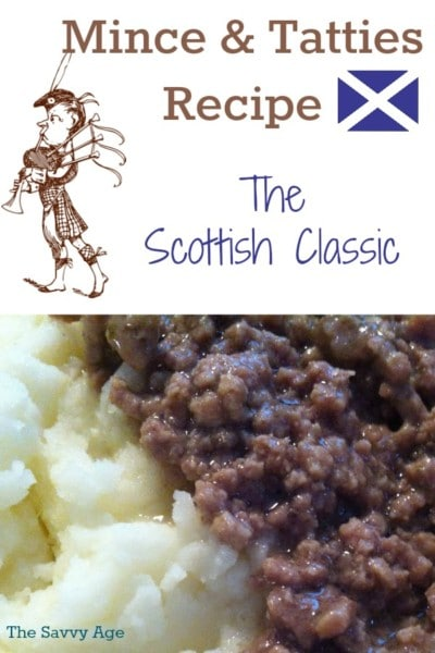 Mince tatties traditional scottish comfort food the savvy age mince and tatties combination on a plate forumfinder Gallery