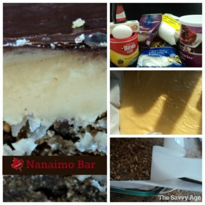 Oh Canada! The Nanaimo Bar is the classic Canadian treat. Who doesn't love custard in a dessert bar!