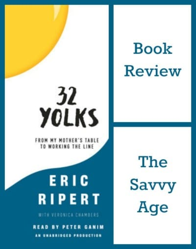 Fascinating chef memoir reviewed: 32 Yolks by Eric Ripert. Great gift for any foodie!