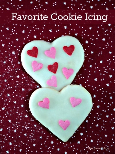My new favorite cookie icing is a must for decorating cookies!