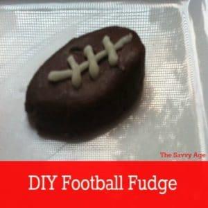 Touch Down! DIY Football Fudge