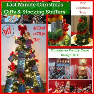 Homemade! Last Minute Christmas Gifts & Stocking Stuffers