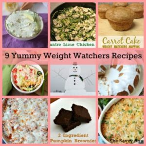 9 Yummy Weight Watchers Recipes With SmartPoints