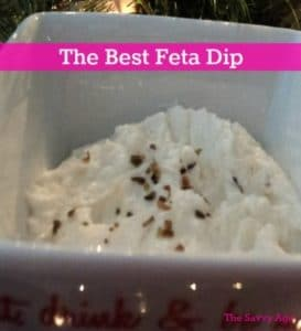 Woot! The BEST Feta Dip Recipe