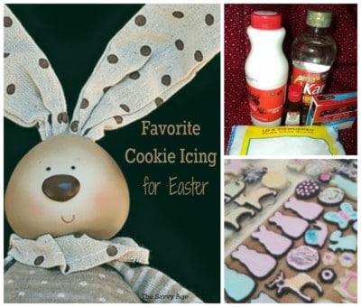 My New Favorite Cookie Icing – Easter Cookies!