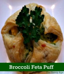 Yum! Easy Broccoli Feta Puff Recipe