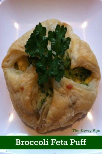 Easy and yummy Broccoli Feta Puff recipe.