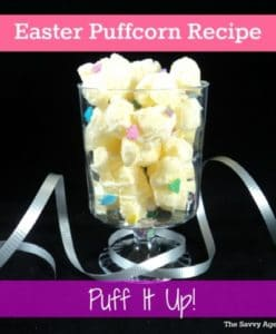 Puff It Up! No Bake Easter Puffcorn Recipe