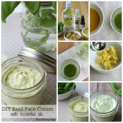 So Soothing! DIY Basil Face Cream With Essential Oils