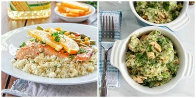 salmon rice side dish